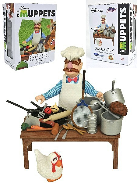 Diamond Select Toys The Muppets Swedish Chef Deluxe Figure Set